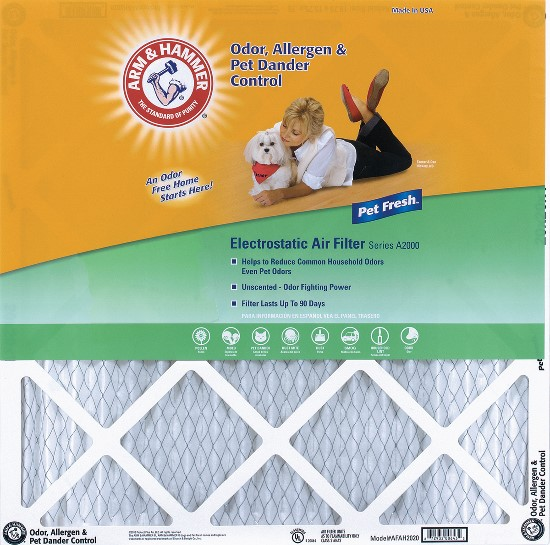 18x24x1 (17.75 x 23.75) Arm and Hammer Air Filter