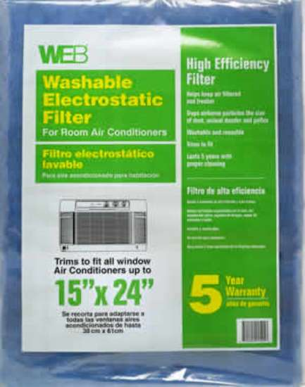 WEB Electrostatic Filter for Room Air Conditioners