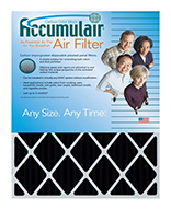 25x28x2 (24.5 x 27.5 x 1.75) Accumulair® Carbon Odor Block 2-Inch Filter