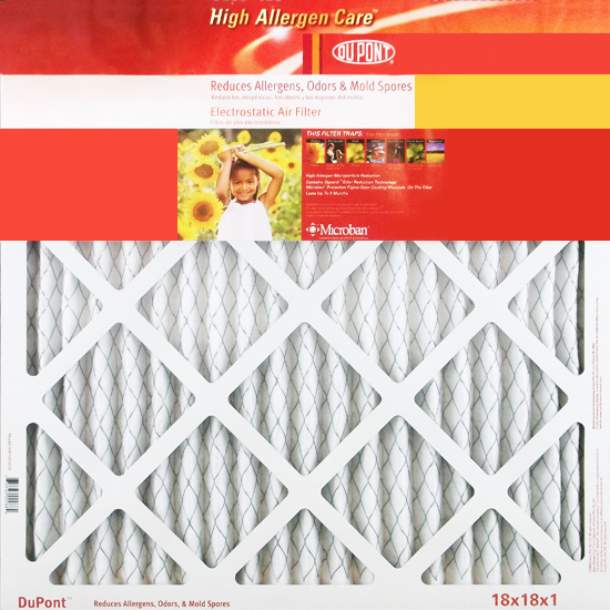 20x24x1 (19.75 x 23.75) DuPont High Allergen Care Electrostatic Air Filter