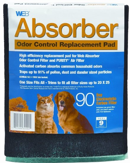 WEB Absorber Odor Control Replacement Pad