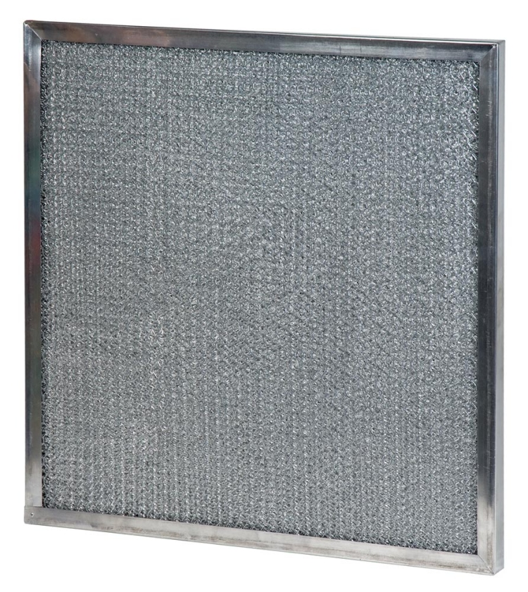 10x20x1 (9.63 x 19.63) Metal Mesh Filter with Carbon