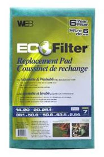 WEB ECO Filter Replacement Pad