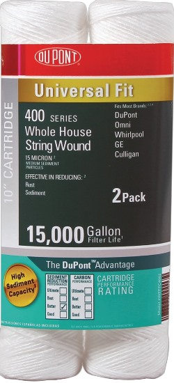 DuPont Universal Whole House String Wound Cartridge PFC4002 (2 Pack)