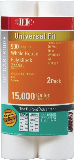 DuPont Universal Whole House Poly Block Cartridge PFC5002 (2 Pack)