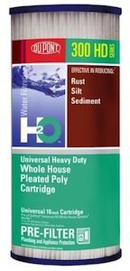 DuPont Universal Heavy Duty Whole House Pleated Poly Cartridge HDC3001