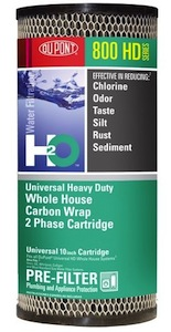 DuPont Universal Heavy Duty Whole House 2 Phase Carbon Wrap Cartridge HDC8001