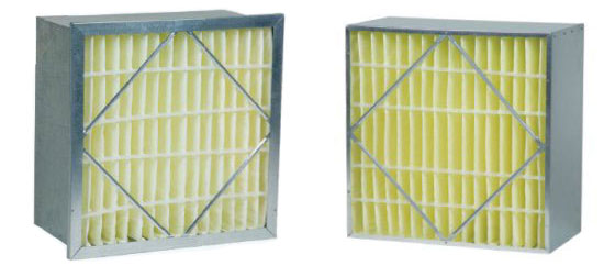 24x24x12 (95%) Rigid Cell Metal Frame Filter with Headers