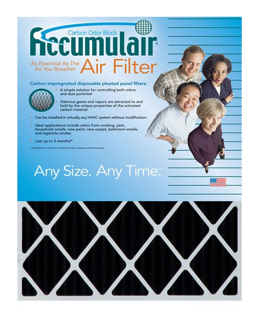 29.75×31.75×1 (Actual Size) Accumulair® Carbon Odor Eliminating 1-Inch Filter