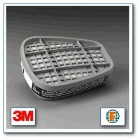 3M Organic Vapor Cartridge 6001 (2 Pack)