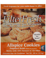 All Spice Cookies Filter Fresh Scented Filter Pads